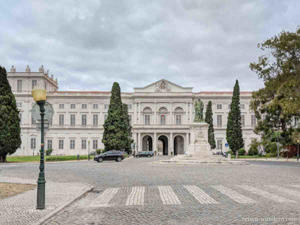 Königspalast Palácio Nacional da Ajuda in Lissabon