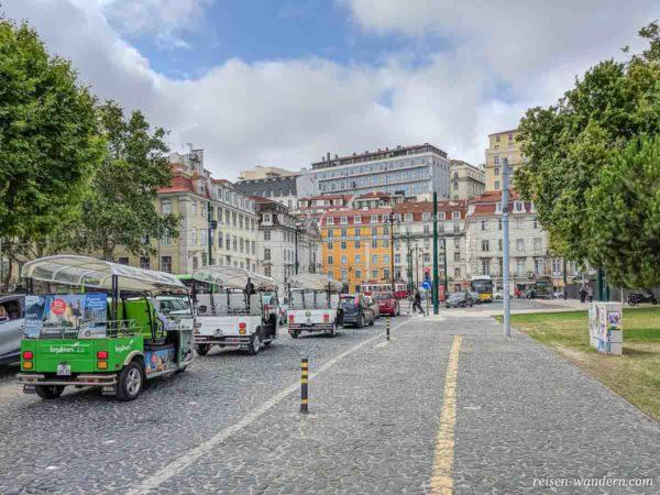 Platz Largo do Corpo Santo in Lissabon