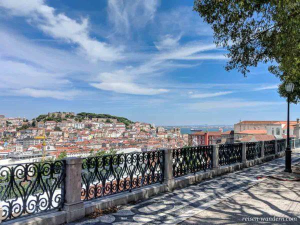 Aussichtspunkt Miradouro de São Pedro de Alcântara