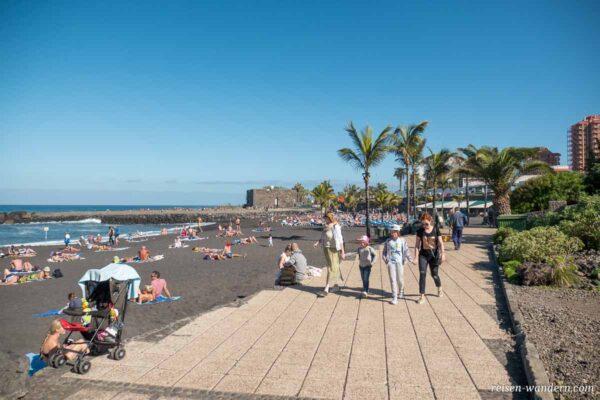 Strandpromenade in Puerto de la Cruz