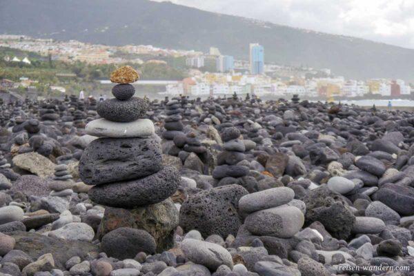 Steinmännchen in Puerto de la Cruz