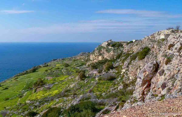 Dingli Cliffs auf Malta
