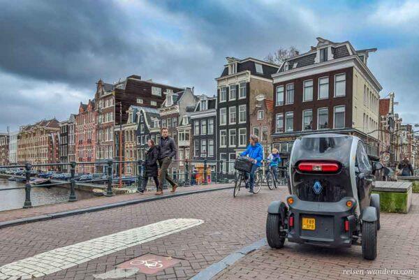 Kleines City Auto in Amsterdam