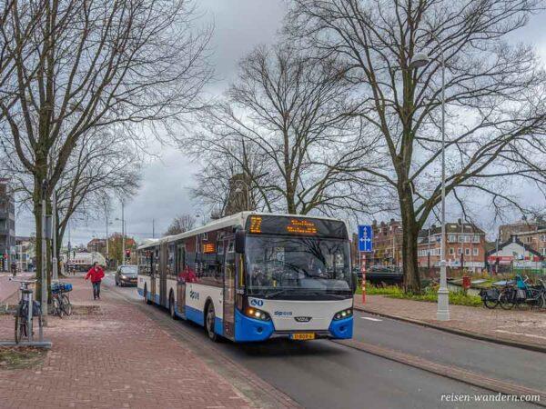 Bus des GVB in Amsterdam