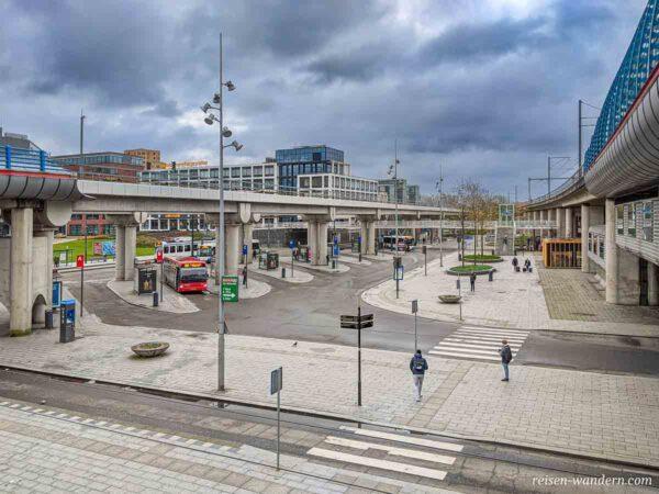 Busbahnhof Sloterdjik in Amsterdam