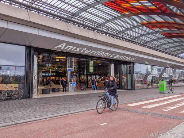 Außenbereich im Norden von Central Amsterdam