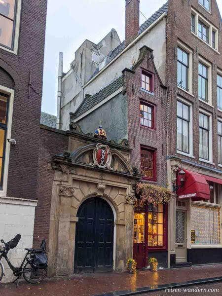 Schmalste Haus in Amsterdam