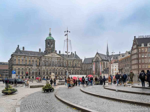 Königspalast am Dam in Amsterdam