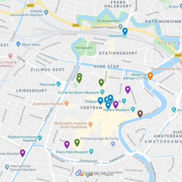 Google Maps Karte von Haarlem
