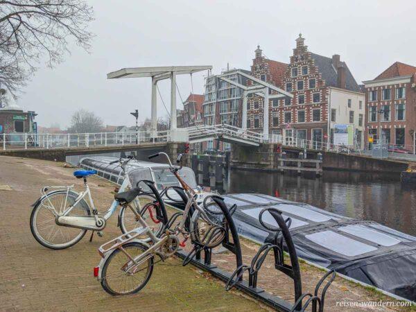 Brücke Gravestenenbrug in Haarlem