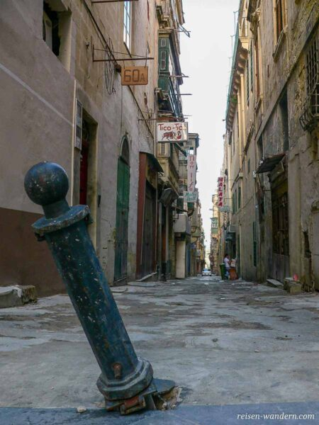 Enge Gasse in Valletta
