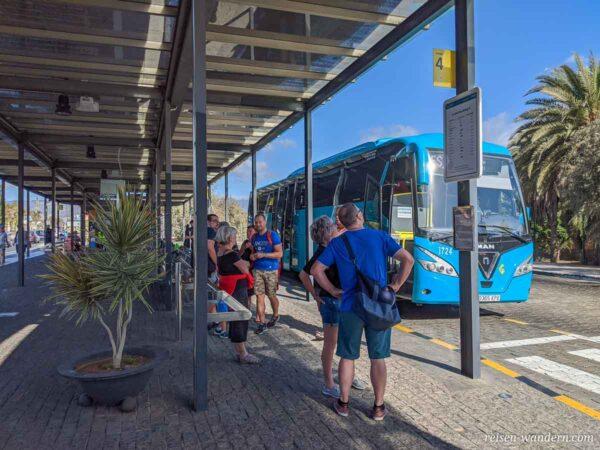 Busbahnhof in Maspalomas