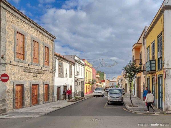 Straße in der Altstadt von Telde