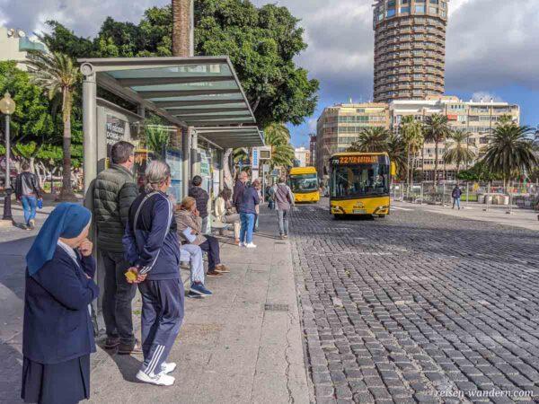 Citybus in Las Palmas auf Gran Canaria