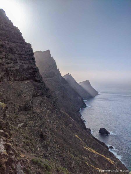 Küstenlinie von Gran Canaria beim Mirador del Balcon