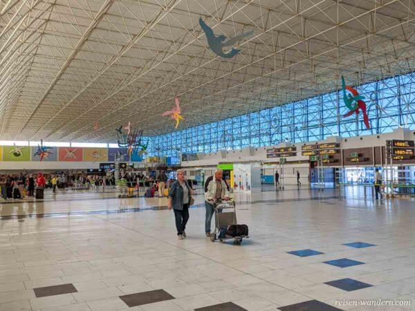 Abfertigungshalle des Flughafen Gran Canaria