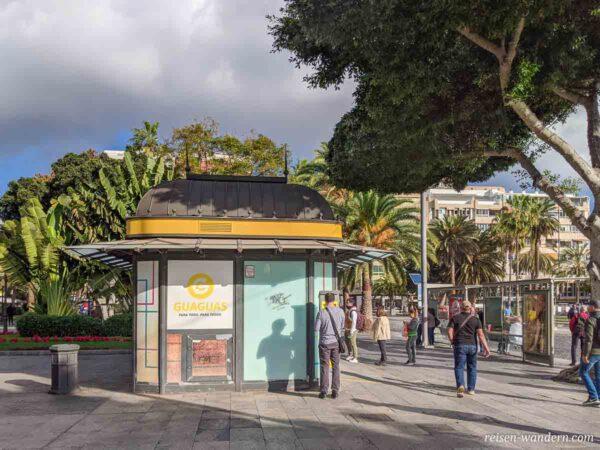 Fahrkartenverkaufshaus in Las Palmas
