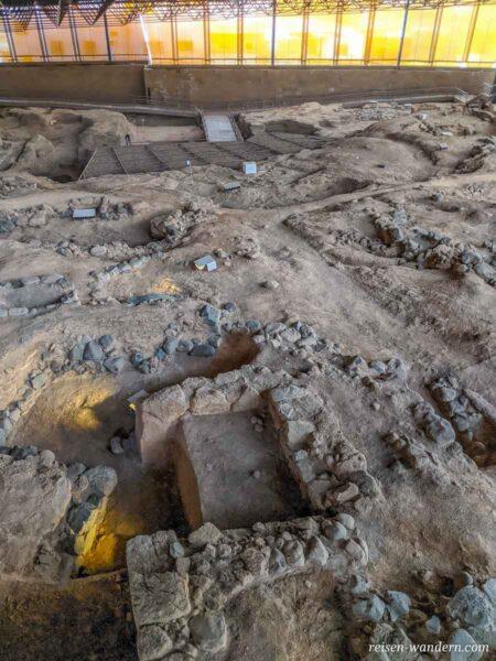 Ausgrabungen im Archäologischen Park von Galdar