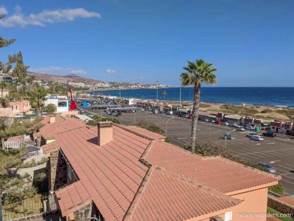 Parkplatz in Playa del Ingles