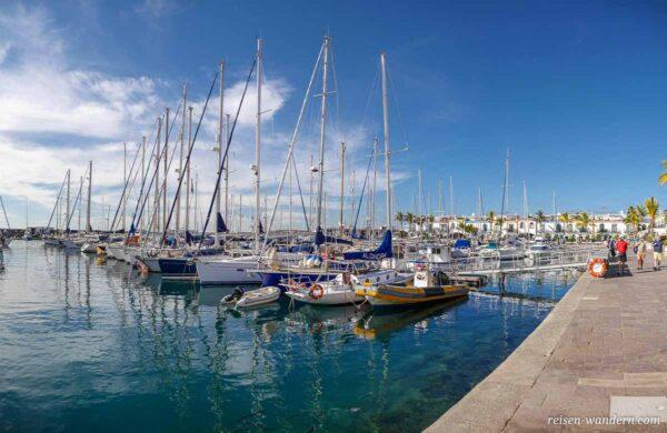 Yachthafen von Puerto de Mogan auf Gran Canaria