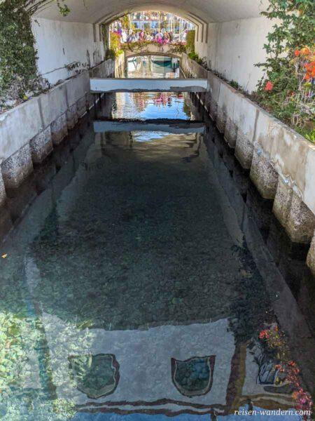 Brücken und Wasserdurchlass in Puerto de Mogan