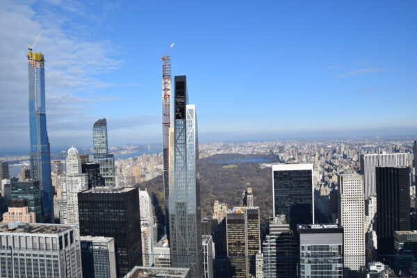 Die Skyline New Yorks vom Rockefeller Center
