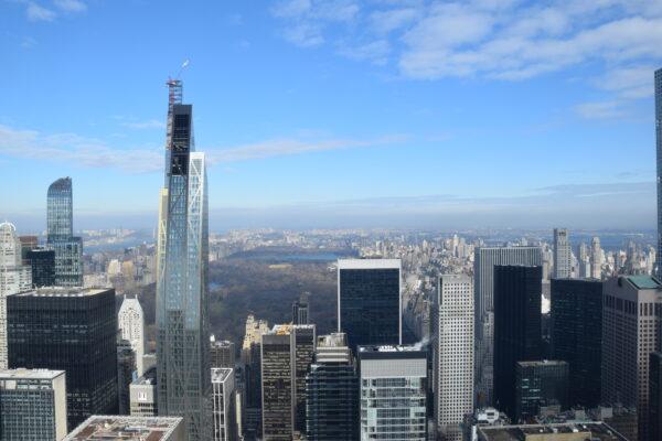 Der Blick vom Rockefeller Center auf den Uptown-District