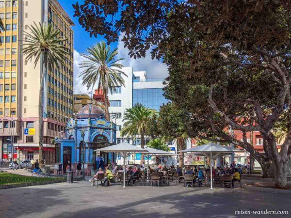 San Telmo Park mit Cafehaus in Las Palmas