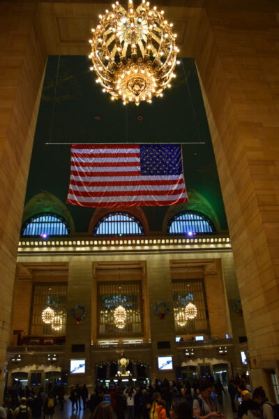 Das innere der Grand Central Station