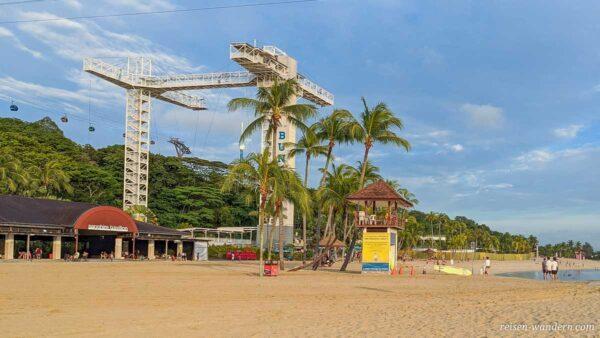 Bungy Turm von AJ Hackett Sentosa auf Singapur