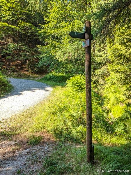 Wegweiser zur Rotkehlchenstiege