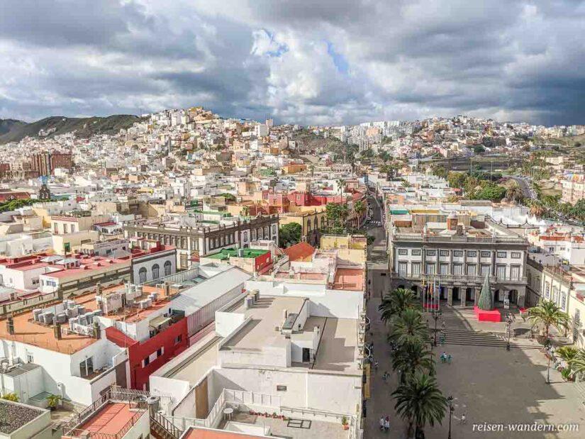 Altstadt von Las Palmas mit Plaza de Santa Ana