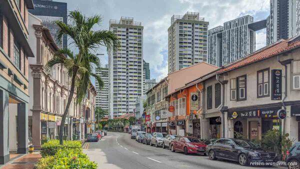 Tanjong Pagar Road in Singapur