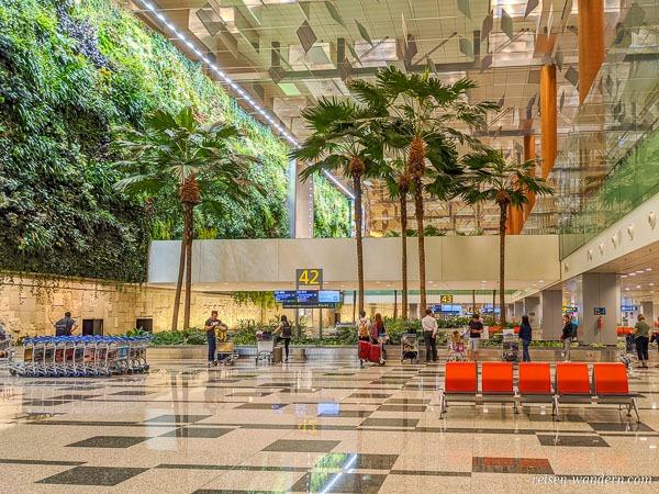 Gepäckausgabe im Changi Airport