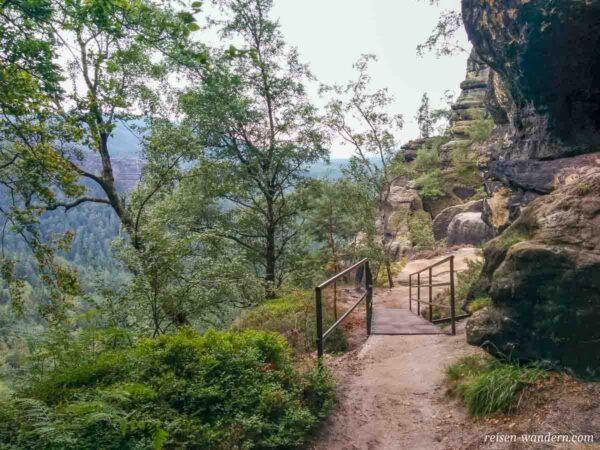 Oberer Bergpfad der Heiligen Stiege