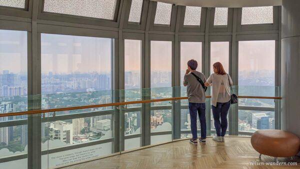 Aussichtsplattform ION Sky in Singapur