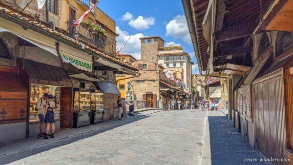 Brücke Ponte Vecchio in Florenz
