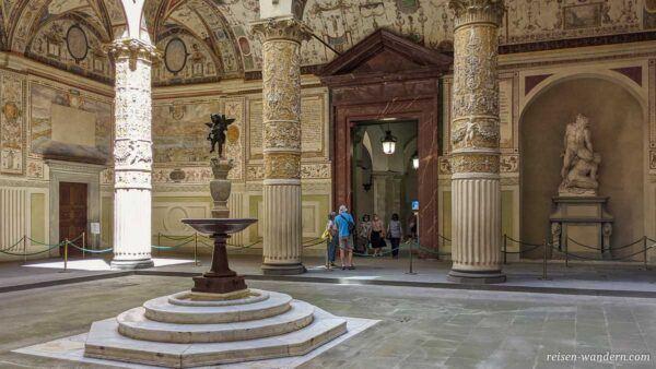 Innenhof Palazzo Vecchio