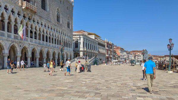 Dogenpalast von Venedig