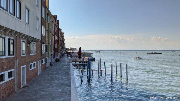 Promenade Fondamente Nove in Venedig