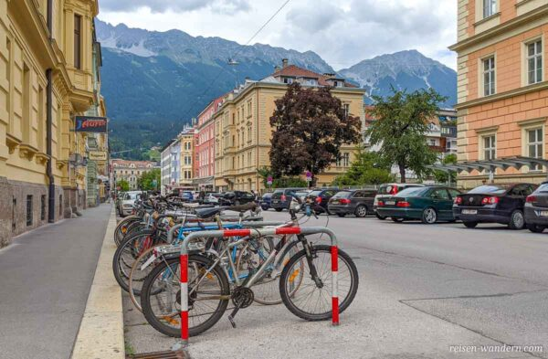 Fahrräder in Innsbruck
