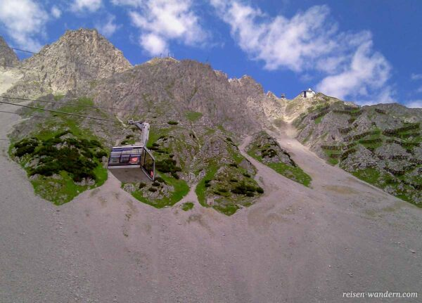 Seilbahn der Innsbrucker Nordkettenbahnen