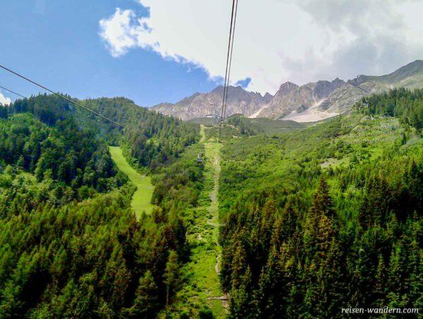 Seilbahn bei Innsbruck