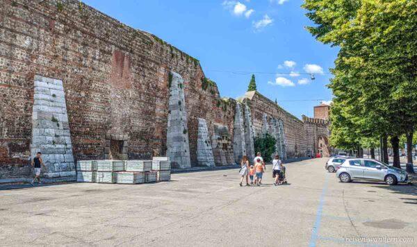 Alte Stadtmauer von Verona