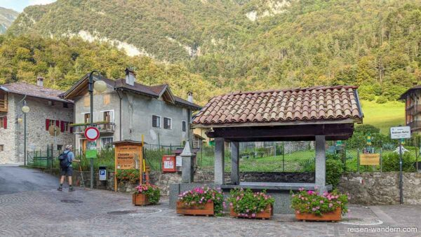 Brunnen in Ballino in Iatlien