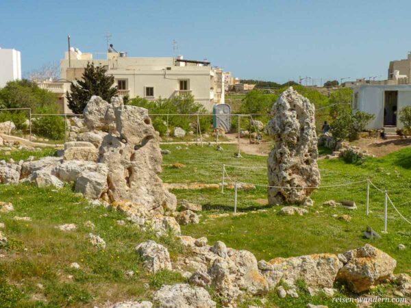 Anlage des Skorba Tempel auf Malta