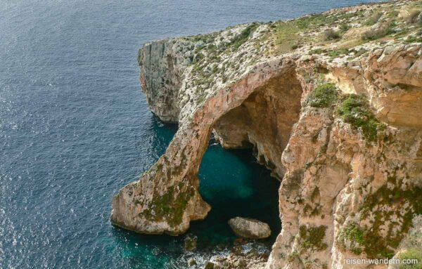 Blaue Grotte auf Malta