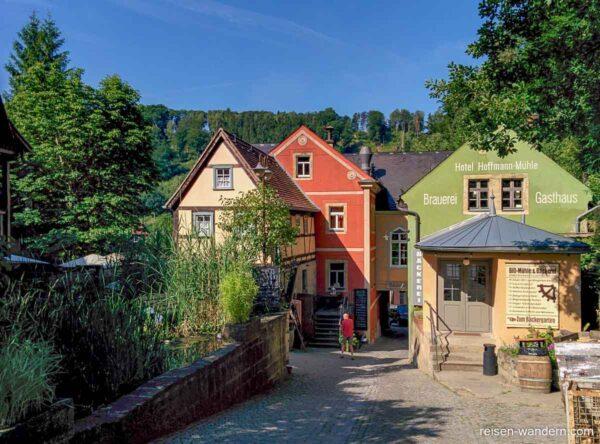 Bio-Bäckerei und Hotel in Schmilka