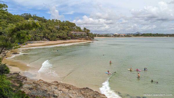 Bucht beim Noosa-Nationalpark an der Sunshine Coast