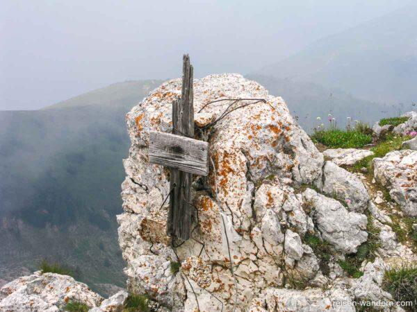Gipfel des Dos d`Abramo